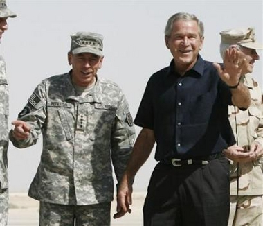 Brokeback Bushie III (Jason Reed/Reuters)